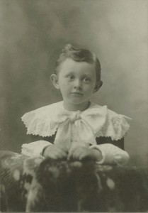 Lyle Denman about age 3-4