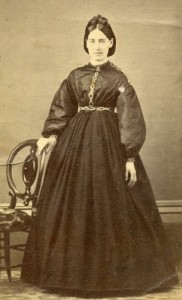 Rosa Blood martin in the early years of her marriage
