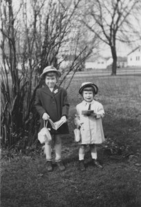Margaret and me, 1950