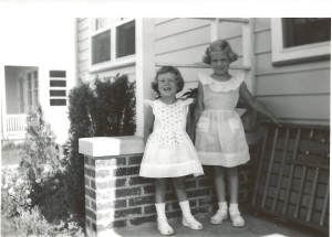 me and my big sister, June 1951