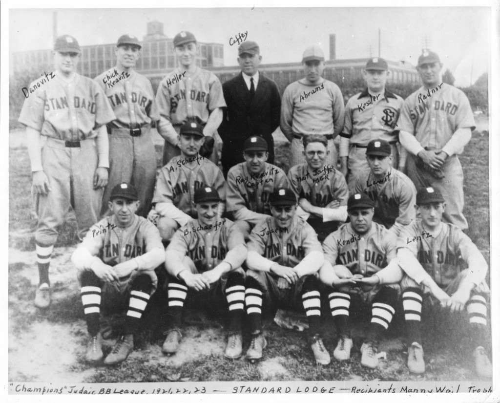 standard lodge baseball team