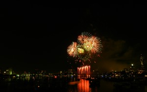 Fireworks on the Charles River