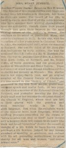 Justice, Susan - 1881 - obituary