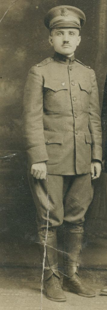 Abe Scheier in WWI uniform
